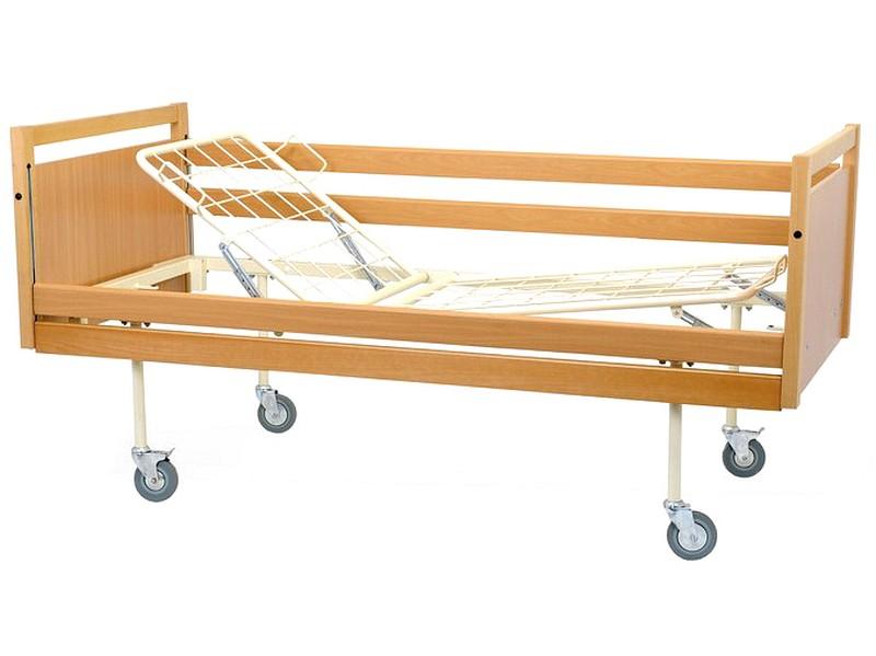 Łóżko zapadkowe  w obudowie drewnianej