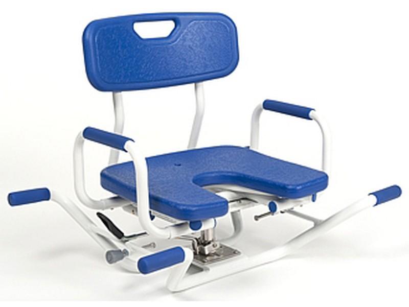 Obracane krzesełko nawannowe