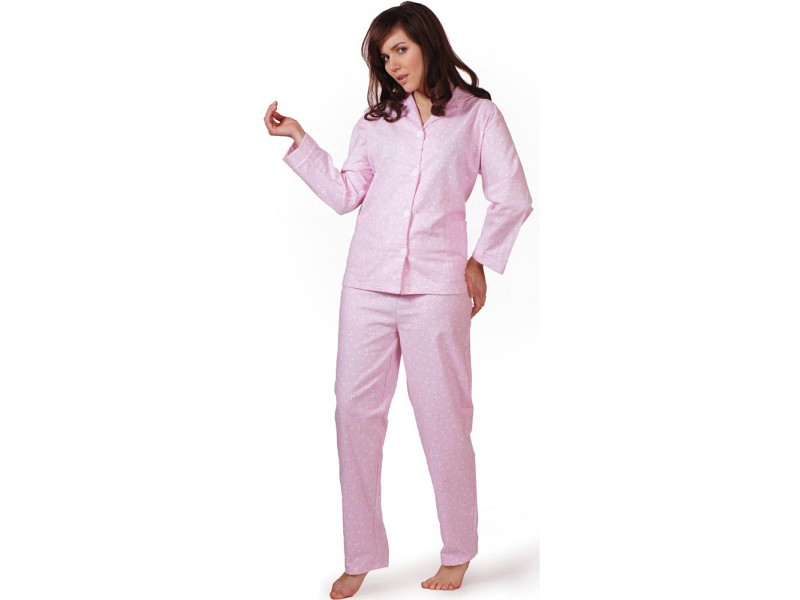 Piżama flanelowa damska